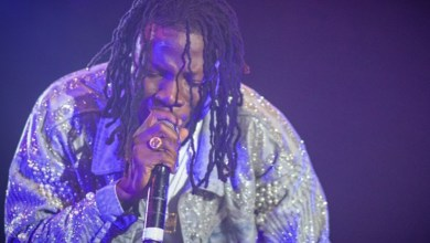 Photo of Stonebwoy's act saves a rainy day at a concert in Kenya