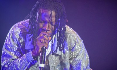 Stonebwoy's act saves a rainy day at a concert in Kenya
