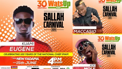 Photo of Kuami Eugene, Tinny, others to perform @ Sallah Carnival