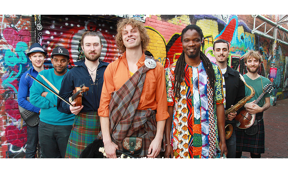 Soulsha: the funk mix of Senegalese & Scottish roots music