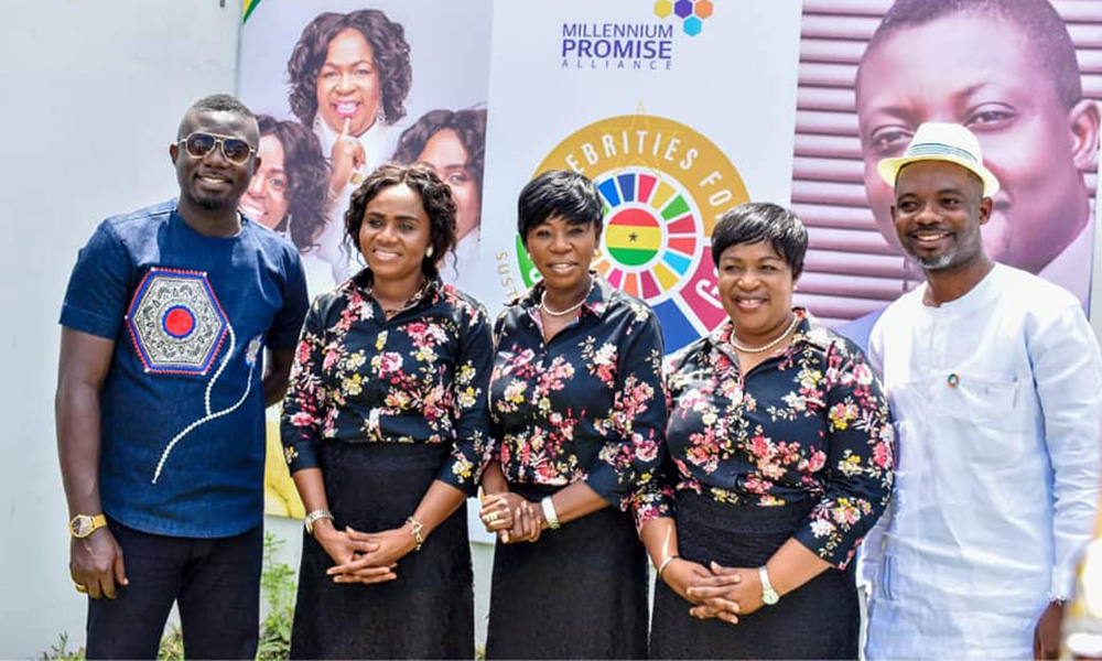 Daughters of Glorious Jesus sign ambassadorial deal