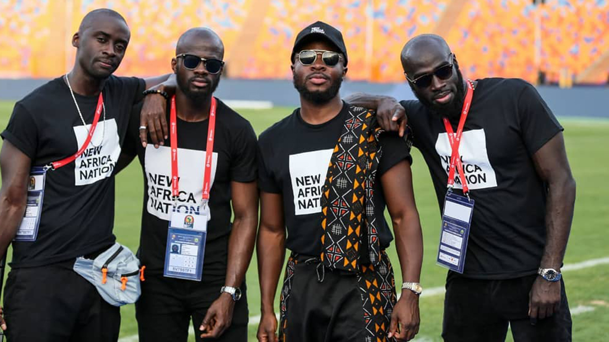 Fuse ODG's performance at the AFCON closing ceremony