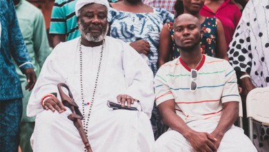 Photo of Photos: King Promise pays courtesy call to Nungua Chief