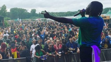 Photo of Stonebwoy flies high the flag of Ghana in Europe