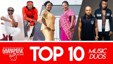 Photo of List of 10 Ghanaian music duos and their best hit ever