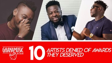 List of Top 10 deserving artistes denied of awards