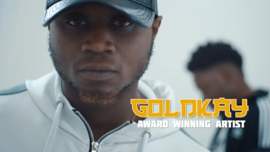 Photo of Goldkay hosts Guiltybeatz in visuals for; Bluffin Remix