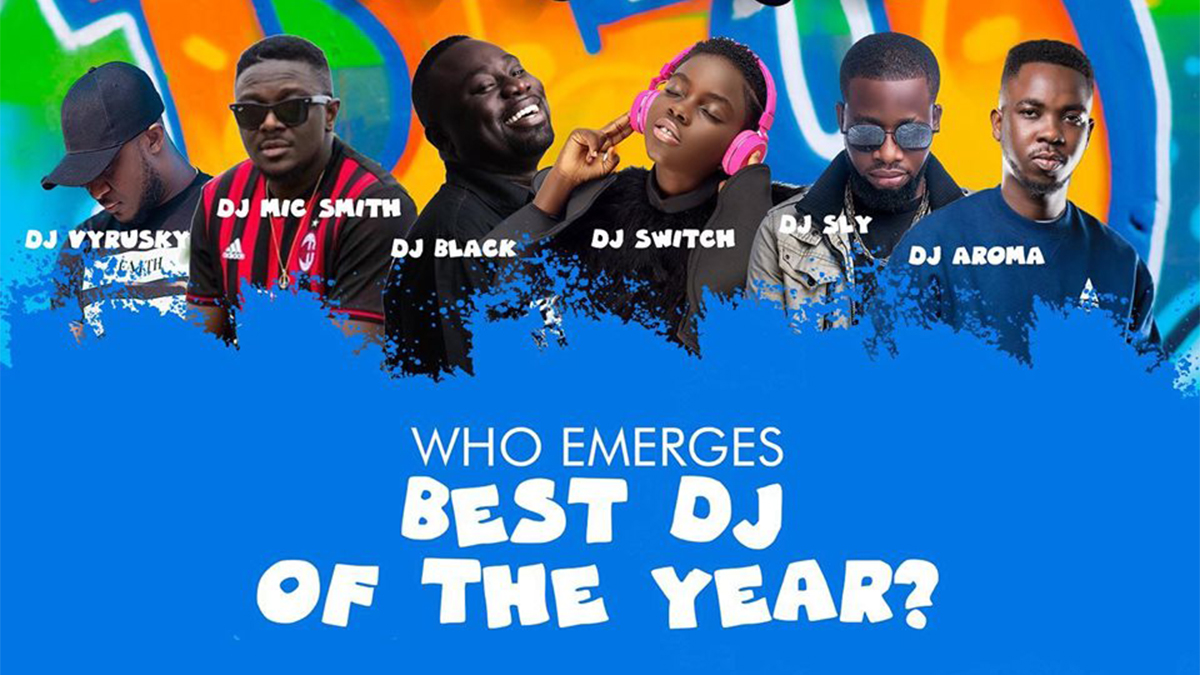 Ghana DJ Awards moves to Accra International Conference Center