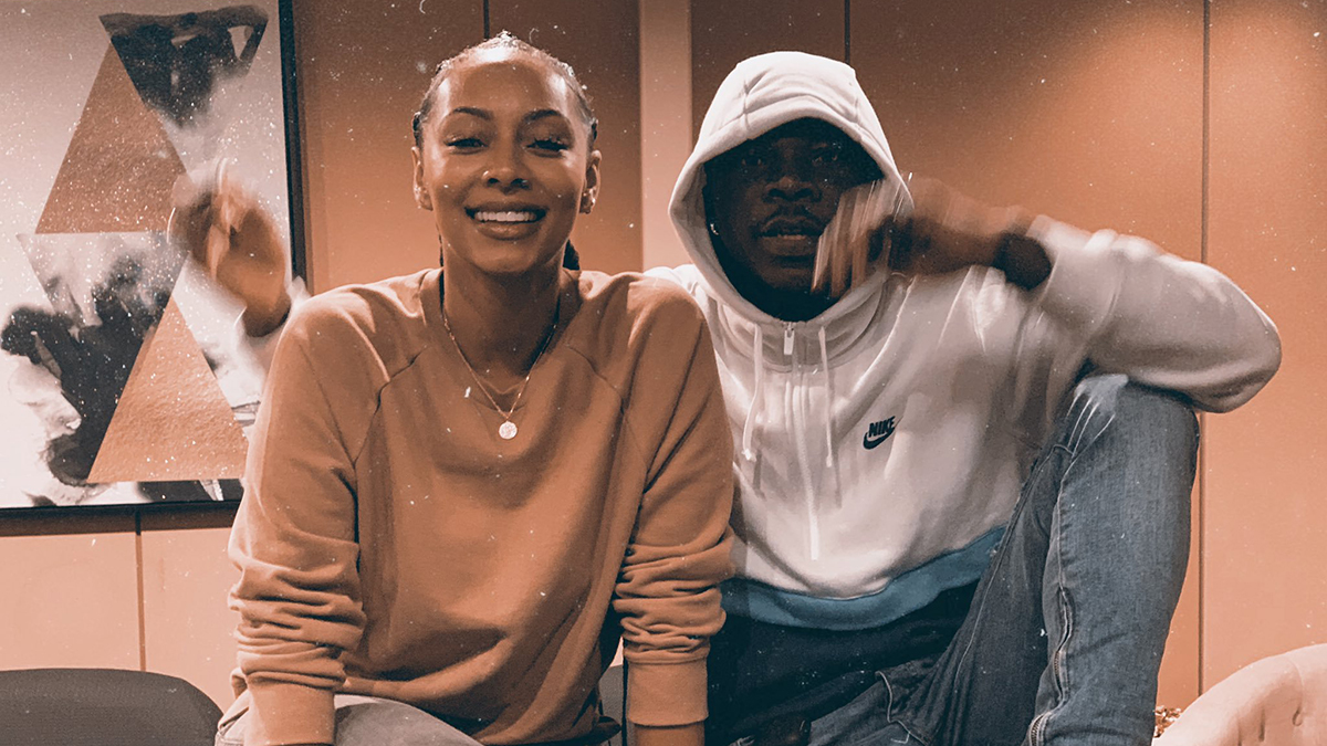 1 caption, multiple interpretations - the Stonebwoy; Keri Hilson tease