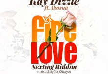 Photo of Audio: Fire Love by Kay Dizzle feat. Akosua