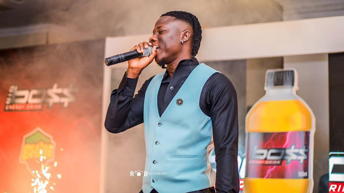 Stonebwoy seals deal with Big Boss Energy Drink