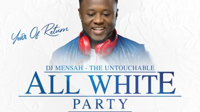 Photo of DJ Mensah's All White Party is on Friday 8th November