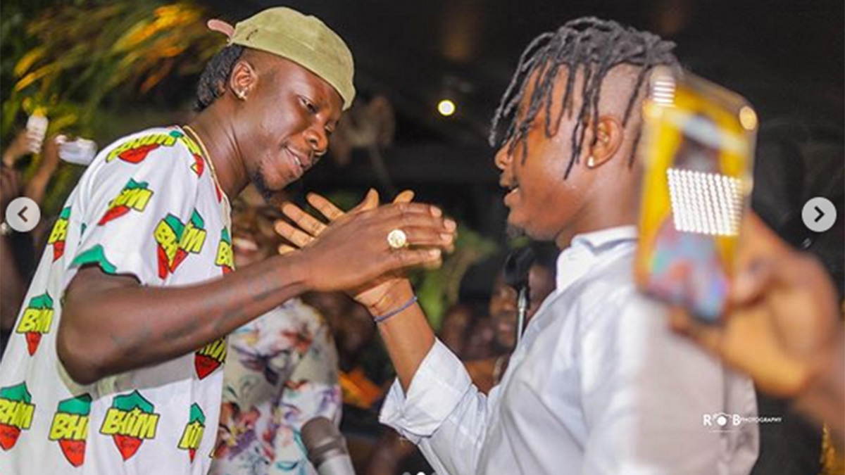 Flashback: Rare video of the first day Stonebwoy met Kelvynboy