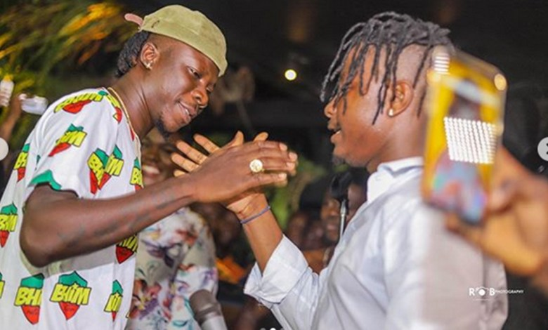 Photo of Flashback: Rare video of the first day Stonebwoy met Kelvynboy
