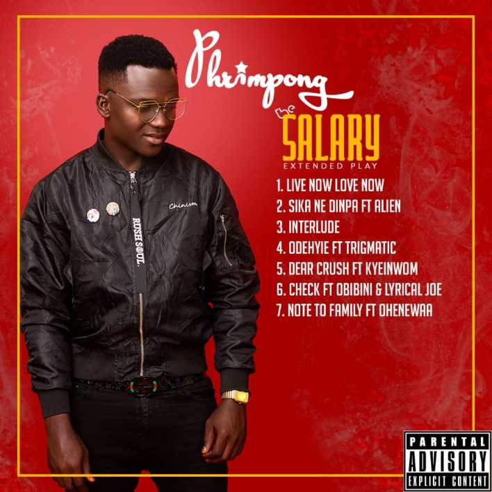 IMG-20191104-WA0055 Phrimpong to premiere 'The Salary EP' after unveiling artwork and tracklist