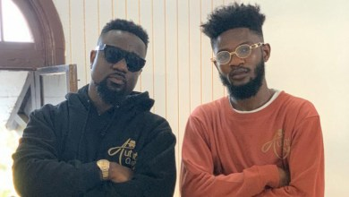 Lyrical Joe shoots new music video with Sarkodie