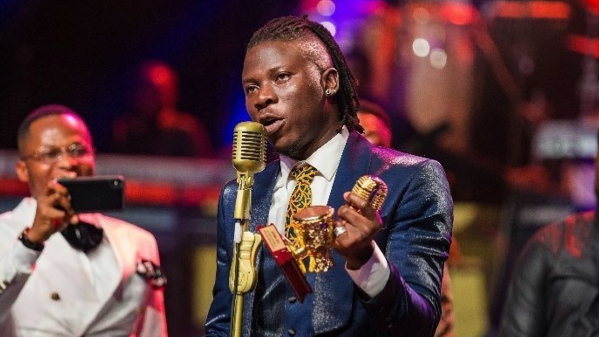 Stonebwoy bags AFRIMA prize for the 3rd time in a row