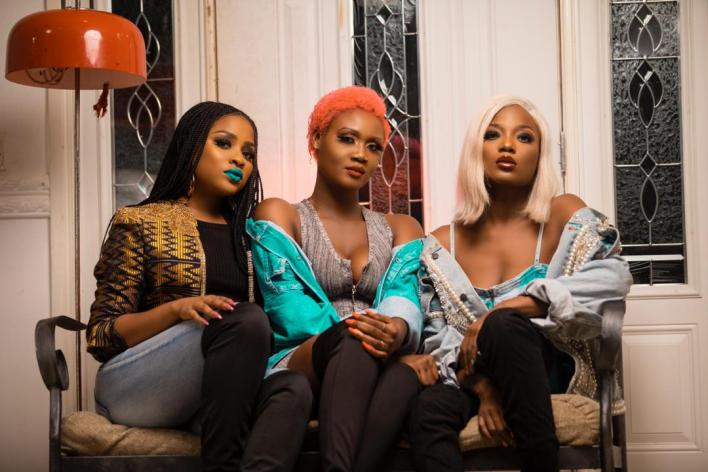 Petrah dazzles in new pictures alongside Adina & Efya