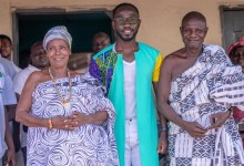 Photo of Okyeame Kwame & Solidaridad organise free health screening at Kintampo