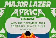 Photo of Major Lazer Soundsystem live at Sandbox this December