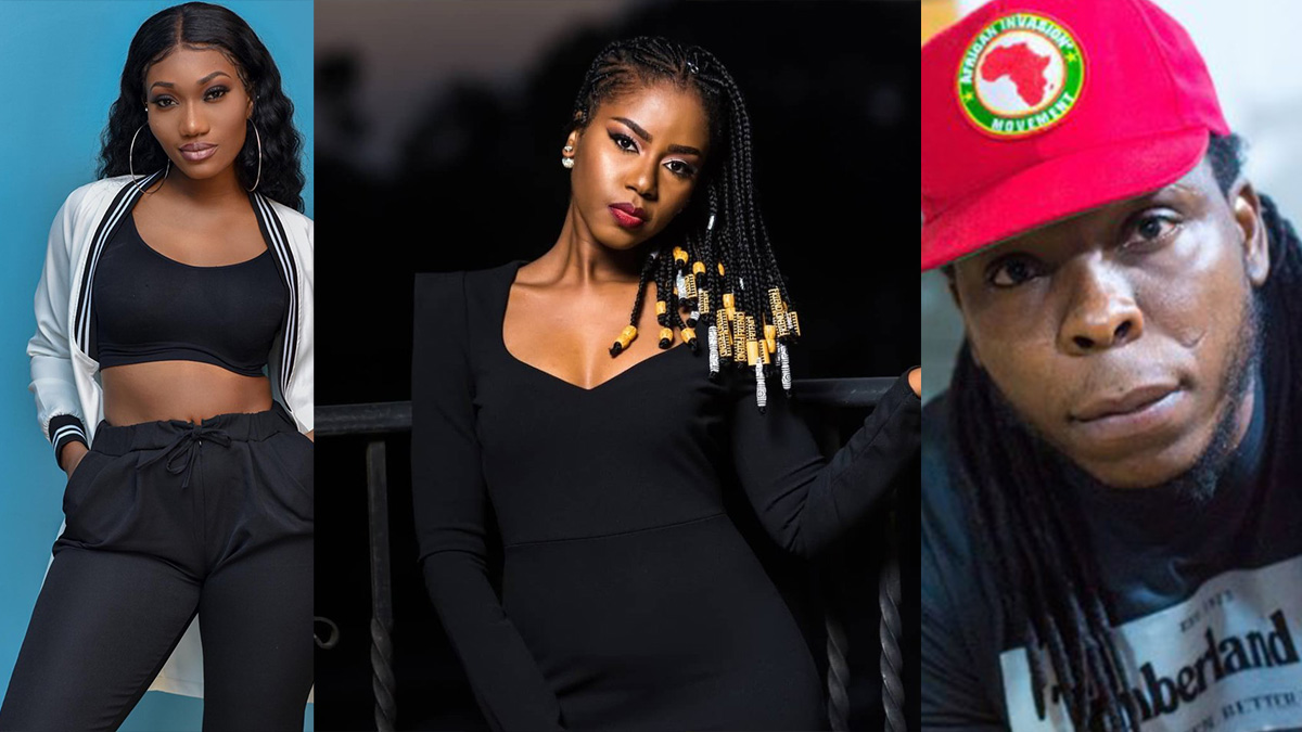 Edem, Wendy Shay show massive support towards MzVee's comeback