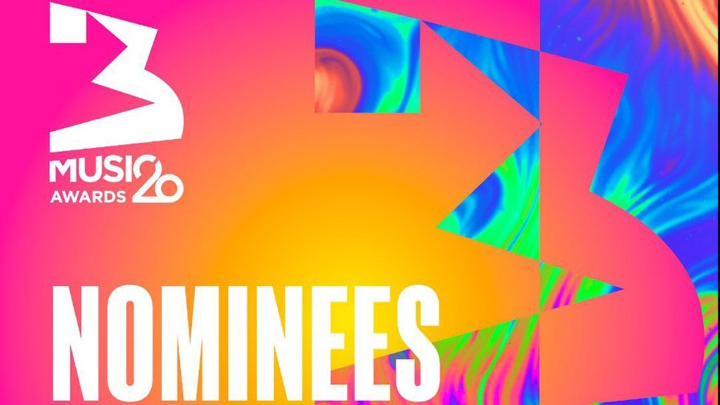 List of nominees for 3 Music Awards 2020