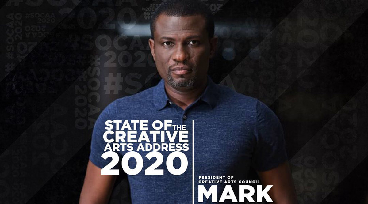 Mark Okraku Mantey delivers State of the Creative Arts Address (SOCAA) - Watch here!
