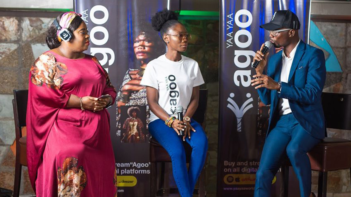 Yaa Yaa launches debut album; Agoo