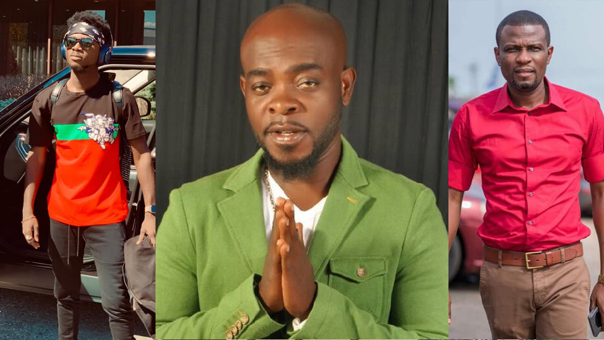 Mark Okraku recounts how Kofi B wanted a collabo with an 'amateur' Kuami Eugene