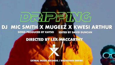 Photo of Video: Dripping by DJ Mic Smith, Mugeez & Kwesi Arthur