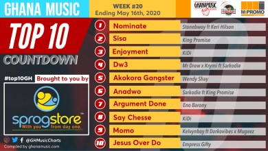 Photo of 2020 Week 20: Ghana Music Top 10 Countdown