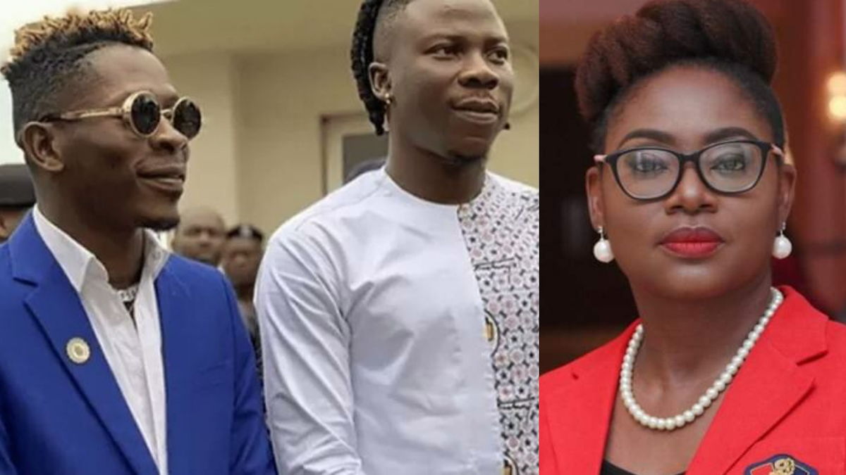 I'm glad my absence from the VGMA is a blessing to others - Stonebwoy