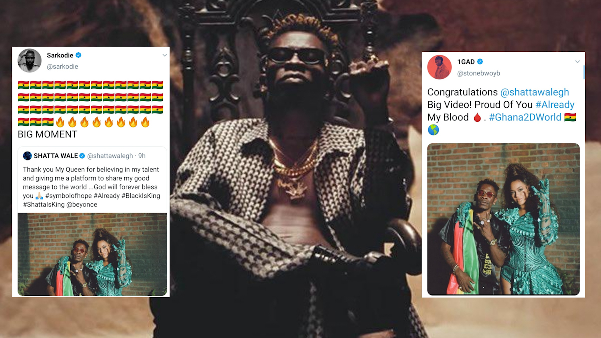 Ghana reacts to Beyoncé, Shatta Wale 'Already' video