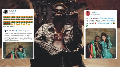 Photo of Ghana reacts to Beyoncé, Shatta Wale 'Already' video