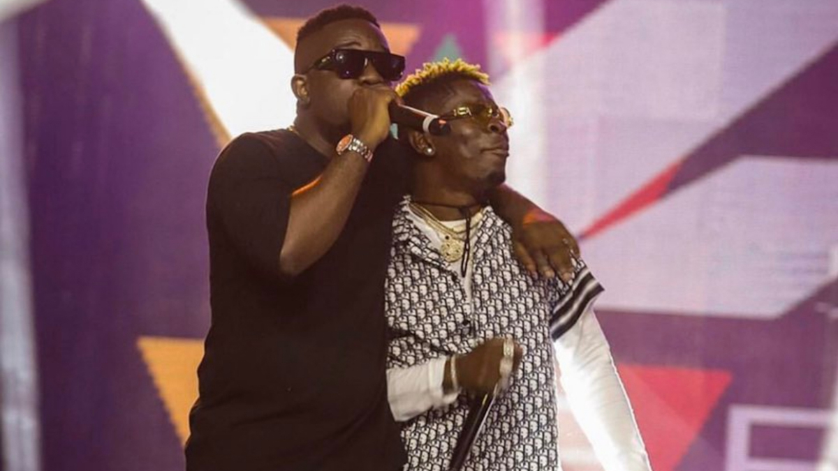 7-times Sarkodie and Shatta Wale were on one song