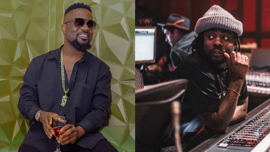 Photo of Wale hints on a Sarkodie collabo ahead of Black Love concert!
