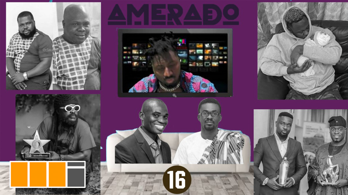Amerado hosts Yeete Nsem EP. 16 with Yazzi Sangari & Sherry Boss