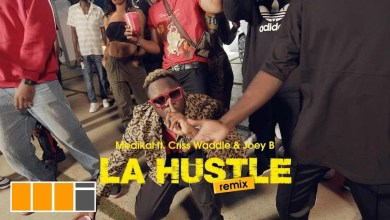 Photo of Video: La Hustle Remix by Medikal feat. Criss Waddle & Joey B