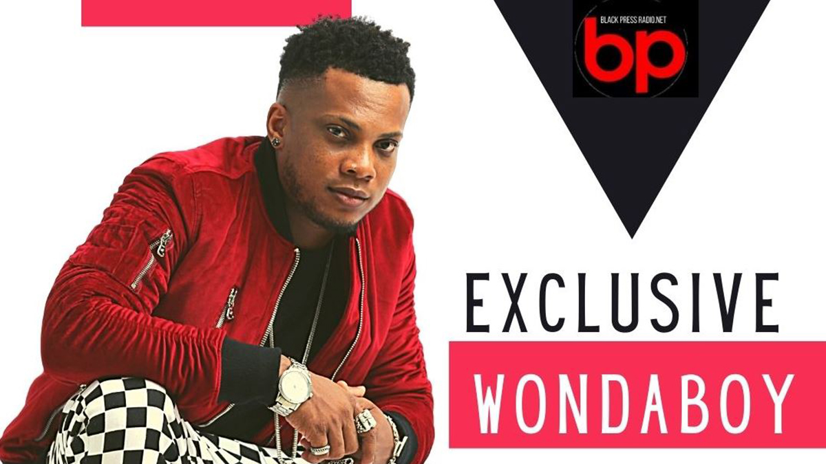 Wondaboy lands an exclusive interview with USA's Black Press Radio