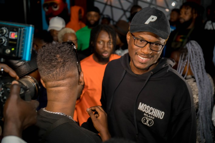 Photos: Private listening of Killbeatz' Love and Happiness EP