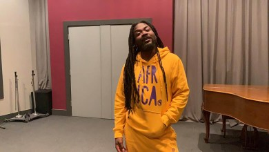 Photo of Samini spotted in legendary Phase One studio in Canada