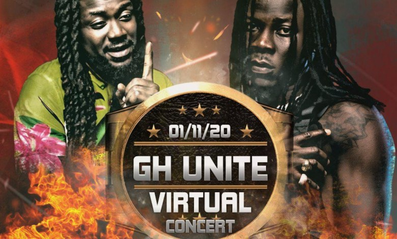 Photo of Samini, Stonebwoy to settle beef on 'GH Unite virtual concert' stage