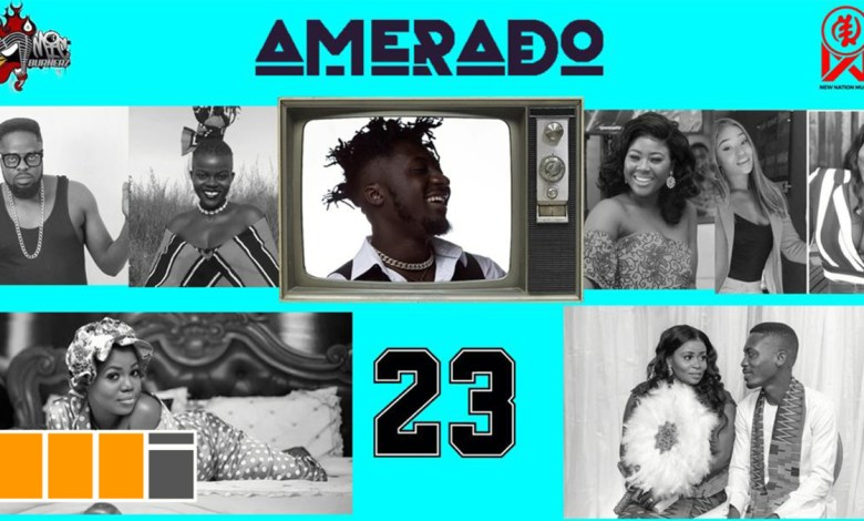 Photo of Amerado feats. Sista Afia & more on Yeete Nsem EP. 23
