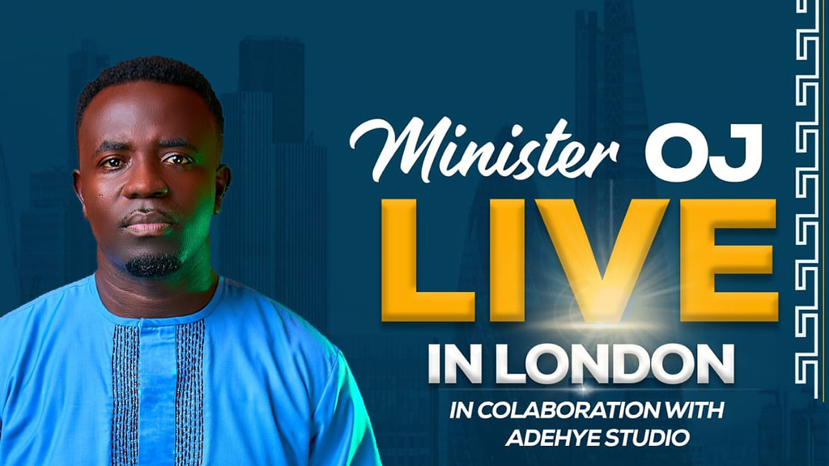 Minister OJ Live In London as he readies for maiden virtual concert on January 29