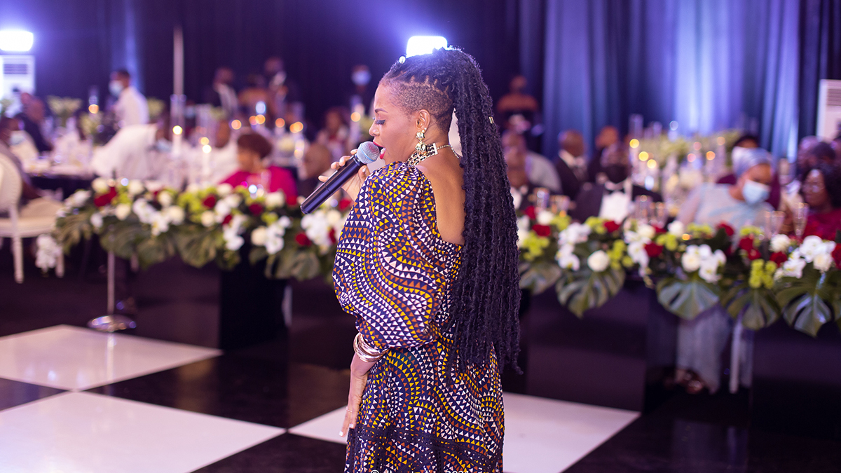 Abiana thrills dignitaries during Akuffo-Addo's Presidential Inauguration Dinner