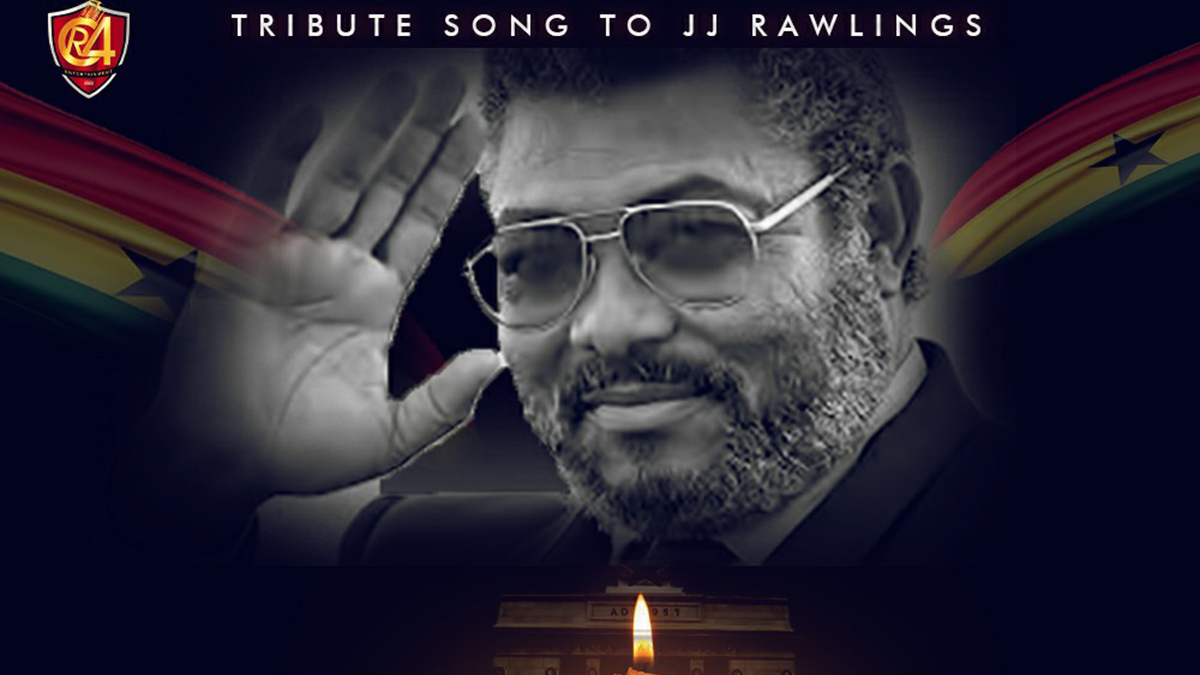 Naa Agyeman eulogizes J.J Rawlings in tribute song; May3 Okunafo