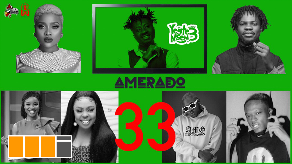 Fameye, Okese1 & more feature on Amerado's Yeete Nsem EP. 32