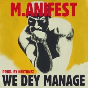We Dey Manage by M.anifest