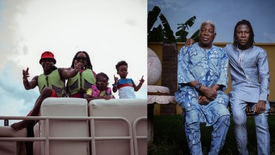 Stonebwoy makes CJ & JahJah proud after earning Ghana Father's Day Award!