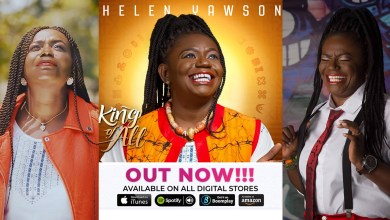 Contemporary Gospel's ace vocal queen, Helen Yawson serves 6th album; King of All